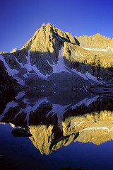 Hungry Packer (copeg) Tags: lake mountains reflection forest sunrise john landscape bravo picture peak national hungry wilderness sierranevada muir packer alpenglow highsierra inyo johnmuirwilderness helluva specland hungrypackerlake