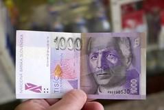 1000 koruna note