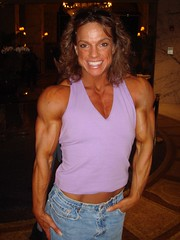 Sheila Bleck is ON (hansk01) Tags: female muscle fbb sheilableck