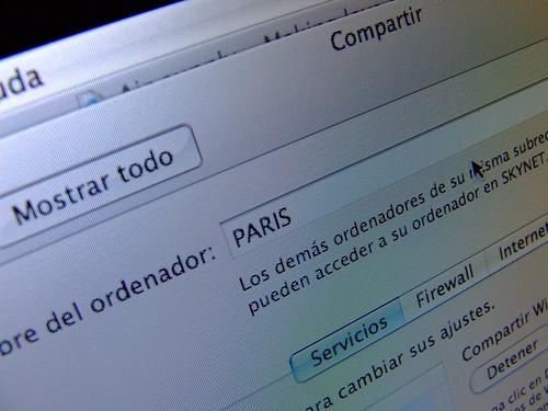 Foto de PARIS, el nombre de mi MacBook Pro