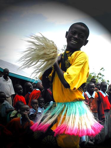 joyful dancer