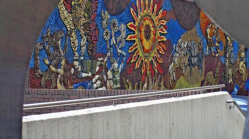 Ceramic & Mosaic Tile Mural – Dublin, Ireland