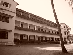 Goa, India; Lourdes Convent at Saligao