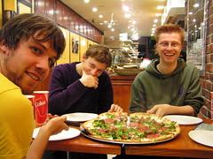 Pizza bij Mozzarelli's