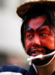 Faces of Nippon (ajpscs) Tags: street red people face japan japanese tokyo nikon streetphotography  nippon  d100   ajpscs facesofjapan