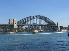 Sydney Harbour Bridge from Circular Quay (Princess_Fi) Tags: wedding rosebay sharkisland