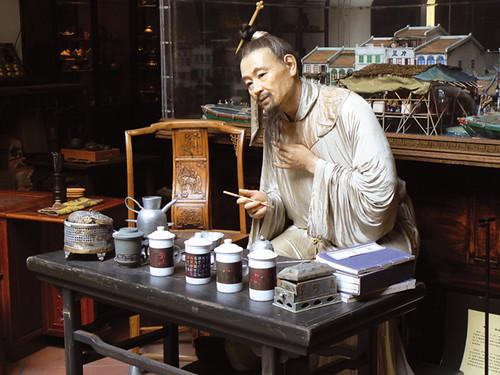 Fuk Tak Chi Museum, Chinatown. Singapore.
