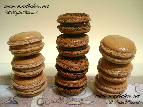 Stacks of Macarons