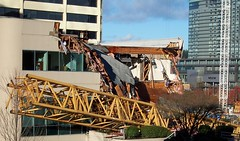 Plaza 305 (DogMyCats) Tags: washington crane destruction collapse bellevue