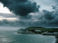 Stormy weather along the south coast of England. Something wicked this way comes. (s0ulsurfing) Tags: blue sea sky cliff cloud storm black beach topf25 beautiful weather taggedout clouds wow wonderful dark landscape grey 3d amazing fantastic scenery tag2 waves mood moody tag1 power quote ominous gorgeous tag awesome perspective dramatic fluffy shakespeare atmosphere windy 2006 100v10f wicked isleofwight brooding bradbury title whoa entitled striking cinematic isle atmospheric impressive nube macbeth wight meteorology freshwater nephology terrific raybradbury threedimensional evocative freshwaterbay instantfave lovephotography s0ulsurfing bonzag 30faves30comments300views aplusphoto holidaysvacanzeurlaub coastuk