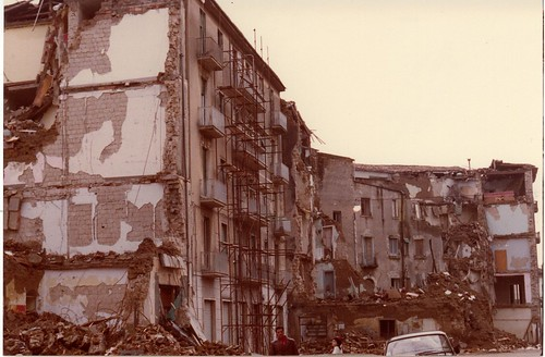 Earthquake in Avellino - November, 23rd 1980#2