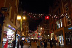 Grafton Street at night