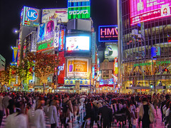 Shibuya Crossing at Night by /\ltus