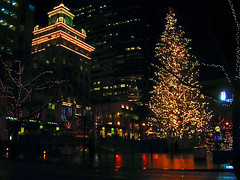 Pioneer Square Christmas Tree