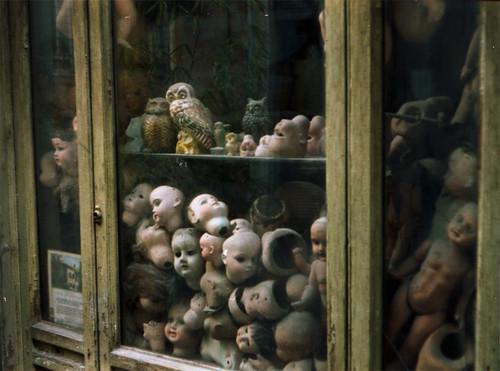 La vetrina delle bambole