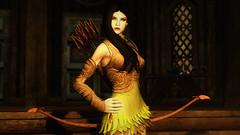 Mary (Snow.Whiite) Tags: screenshot skyrim skyrimmods posesmods poses pose tesv mods dress games elderscrolls