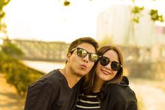 Friends (mikeeephotos) Tags: friends parque forestal santiago warm