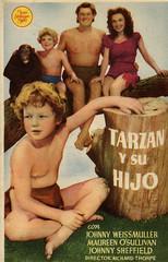 Tarzan Finds a Son! (ciudad imaginaria) Tags: poster tarzan cartel programas johnnyweissmuller tarzán johnnysheffield maureenosullivan