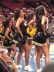 Bowie Cheerleaders (Kevin Coles) Tags: newyorkcity basketball cheerleaders 2006 cheer bulldogs december2 bsu hbcu ciaa 2006bigappleclassicmadisonsquaregarden bowiestate