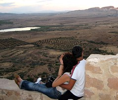 Love in TUNISIA (soufi2) Tags: sunset summer love girl beautiful montagne couple tunisia dream coucher perspectives jeunesse ciel amour paysage liberte tunisie tnez nour jeune   rve entente  faza        takrouna