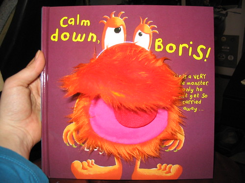 Calm Down, Boris by Sam Lloyd