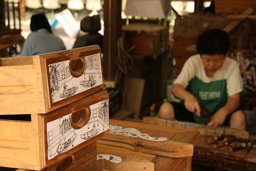 Teak Carvings