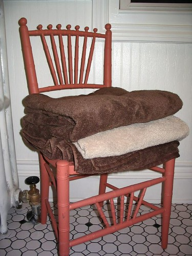 Salvaged chair