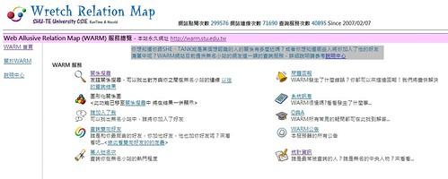 Web Allusive Relation Map