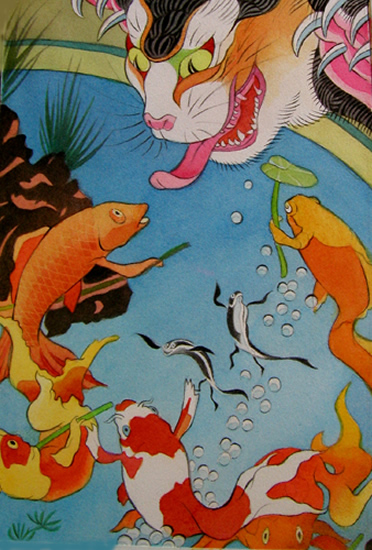 Moira Hahn, Neko and Koi, 2006