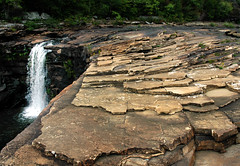 Nature -  On The Rocks (nailbender) Tags: nature ilovenature waterfall rocks alabama desoto nailbender specnature jdmckinnon naturefavorite~