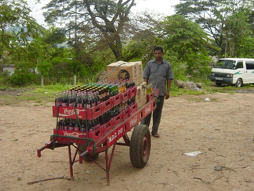 Sri Lanka Coca-Cola distribution