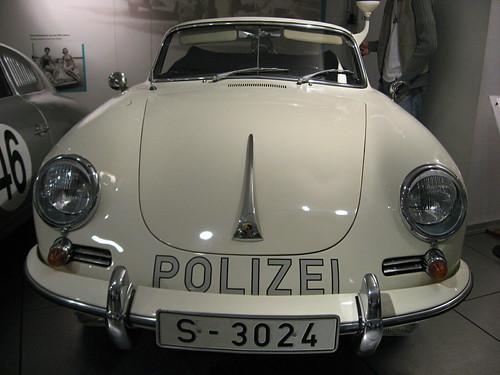 Porsche 356A Policía Alemania Police Polizei
