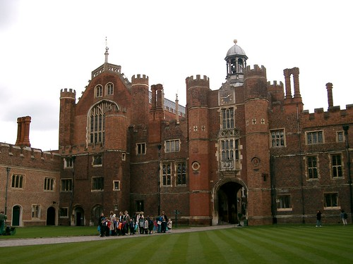 Inside Hampton Court Palace