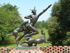 A report on two sculptures of actaeon and diana by paul manship