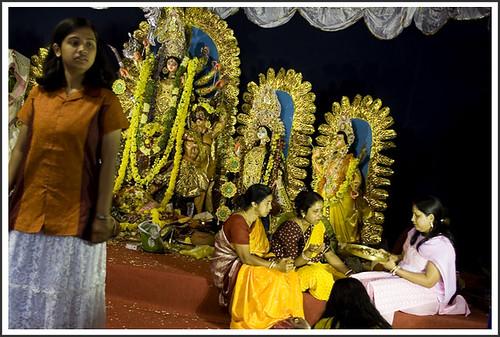 Bengali Adda at Durga Puja