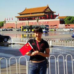 Tea loves China ^_^ (Teafor2) Tags: china square beijing olympic tiananmen chairmanmao nationalday teafor2