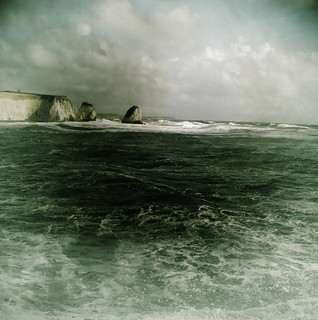 Stormy weather @ Freshwater Bay, Isle of Wight