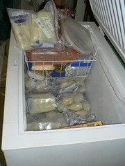 Chest freezer of breast milk