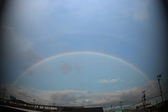 l'arcobaleno (.:Takae:.) Tags: photoshop rainbow october arcobaleno  larcobaleno
