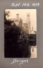 Bruges, Belgium 1929 - by H4NUM4N