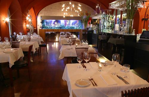 Kampa Park el restaurante de los ricos y famosos en Praga