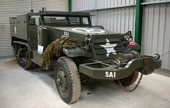 M-3 half-track - Muckleburgh Collection (Whipper_snapper) Tags: uk england gun tank norfolk guns tanks muckleburghcollection armouredcars m3halftrack