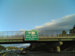 2 miles from Exit 14, Wednesday 5:21 pm 10/18/06 Weston, Town Of, Massachusetts