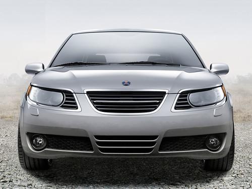 2006 Saab 9 5 Sedan. 2006 Saab 9-5 Sedan front shot