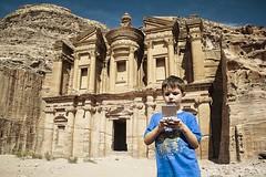 Game Boy at Petra (Cybjorg) Tags: boy game petra nintendo jordan monastary gameboyaroundtheworld
