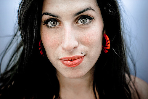 Amy Winehouse - (V2004 Chelmsford, Hylands Park, 21st August 2004) by andrewkendall.