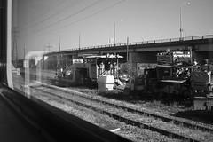 B&W Toronto - machines at rest (rinjava) Tags: toronto gardiner