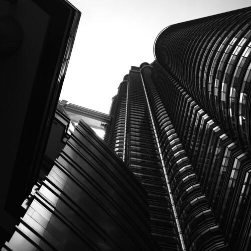The Twin Skyscaper of Kuala Lumpur