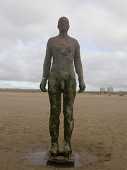 """Anthony Gormley, """"Another Place"""" (leanne.cordingley) Tags: liverpool crosby anthonygormley anotherplace"""