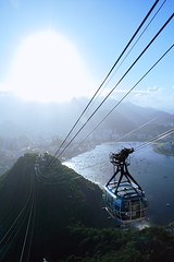 RJ (R. Motti) Tags: travel blue sea brazil sun mountain tourism brasil riodejaneiro wideangle cablecar sugarloaf podeacar motti bondinho baiadeguanabara guanabarabay abigfave ricardomotti